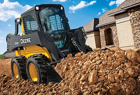 Skid Steers, Wheel Loaders & Excavators