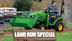 Land Run: 1025R (25 hp) Tractor Package Special