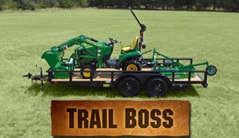 Trail Boss: 1023E (23+ hp) Tractor Package Special