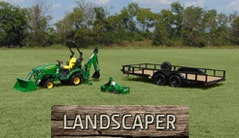 Landscaper: 1025R (25 hp) Tractor Package Special