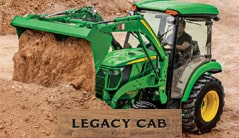 Legacy Cab: 3033R (33 hp) Tractor Package Special
