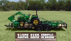 Ranch Hand: 3038E (37 hp*) Tractor Package Special