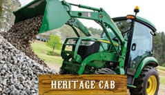 Heritage Cab: 3039R (39 hp) Tractor Package Special