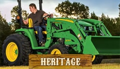 Heritage: 3039R (39 hp) Tractor Package Special
