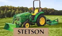 Stetson: 3043D (43 hp) Tractor Package Special