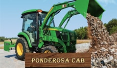 Ponderosa Cab: 3046R (46 hp) Tractor Package Special