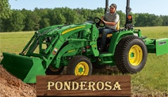 Ponderosa: 3046R (46 hp) Tractor Package Special