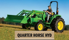 Quarter Horse: 4044M (45 hp*) Tractor Package Special