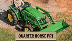 Quarter Horse PRT: 4044M (45 hp*) Tractor Package Special