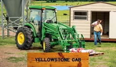 Yellowstone Cab: 4044R (44 hp) Tractor Package Special