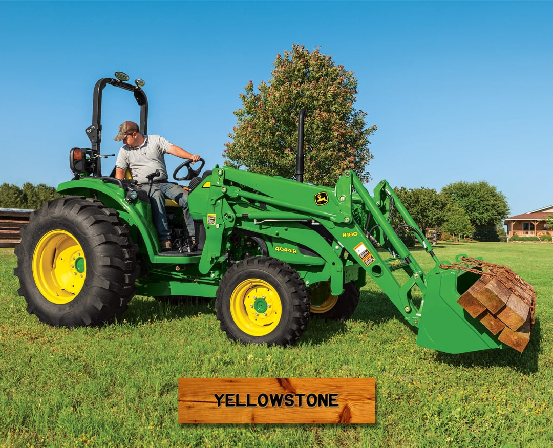 Yellowstone: 4044R (44 hp) Tractor Package Special