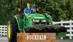 Buckskin: 4052M (52 hp) Tractor Package Special