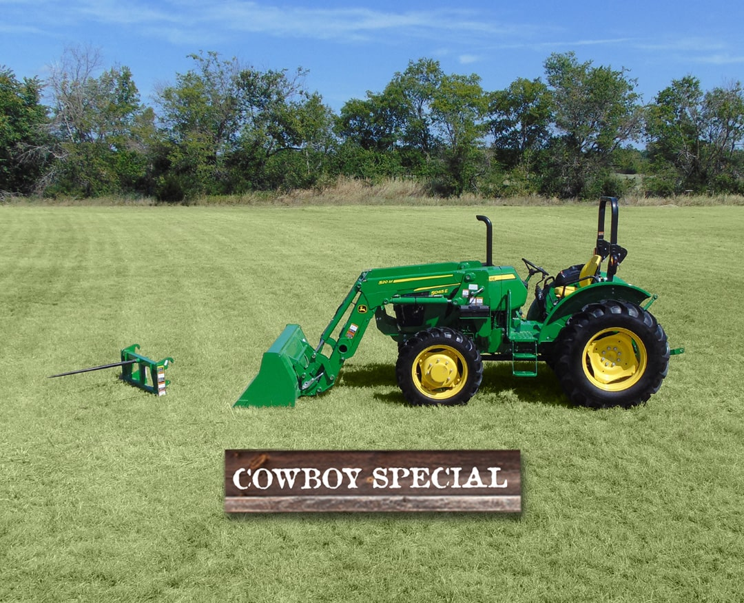 Cowboy: 4WD - 5045E (50+ hp) Tractor Package Special
