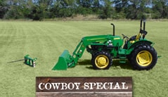 Cowboy: 5045E (50+ hp) Tractor Package Special