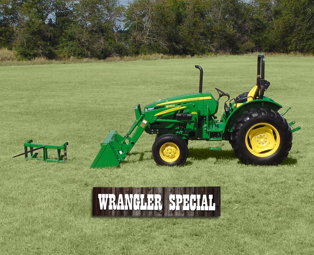 Tractor + Loader + Three-Tine Bale Spear + Warranty. Tractor Packages.  SCHEDULE ...