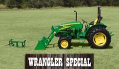 Wrangler: 5045E (50+ hp) Tractor Package Special