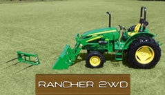 Rancher 2WD: 5055E (55 hp*) Tractor Package Special