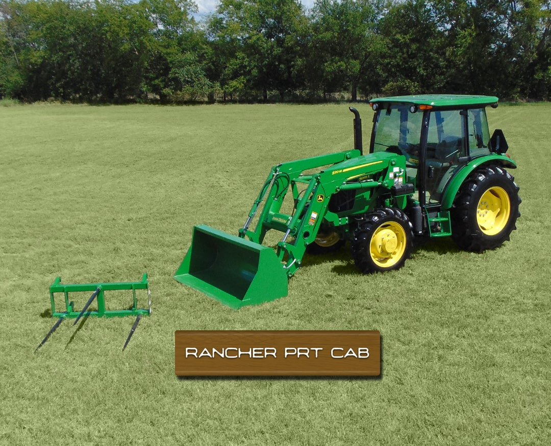 Rancher PRT CAB 5055E (55 hp*) Tractor Package Special