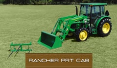Rancher PRT CAB: 5055E (55 hp*) Tractor Package Special