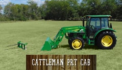 Cattleman PRT CAB: 5065E (65 hp*) Tractor Package Special