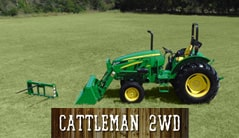 Cattleman 2WD: 5065E (65 hp*) Tractor Package Special