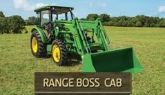 Range Boss Cab: 5075E (75 hp*) Tractor Package Special