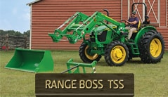 Range Boss TSS: 5075E (75 hp*) Tractor Package Special