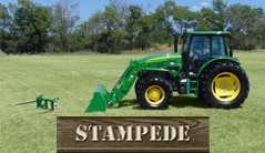 Stampede: 6105E (105 hp*) Tractor Package Special