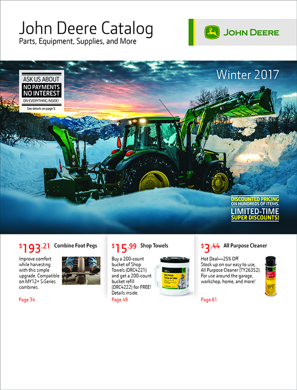 Winter 2017 Parts Catalog