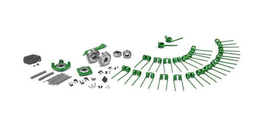 Restocking of Select New John Deere Round Baler Wear Parts