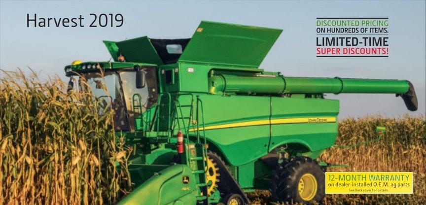 John Deere Harvest Parts Catalog