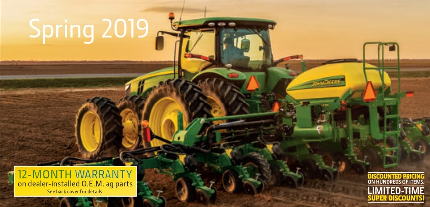 John Deere Spring 2019 Parts Catalog