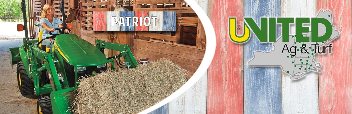 Patriot 1023E Tractor Package