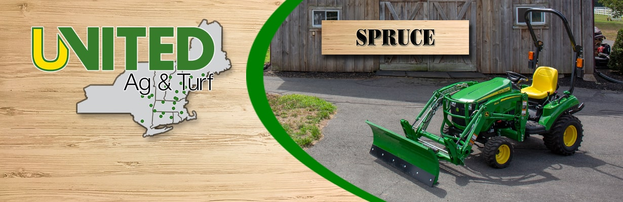 Spruce 1023E Tractor Package