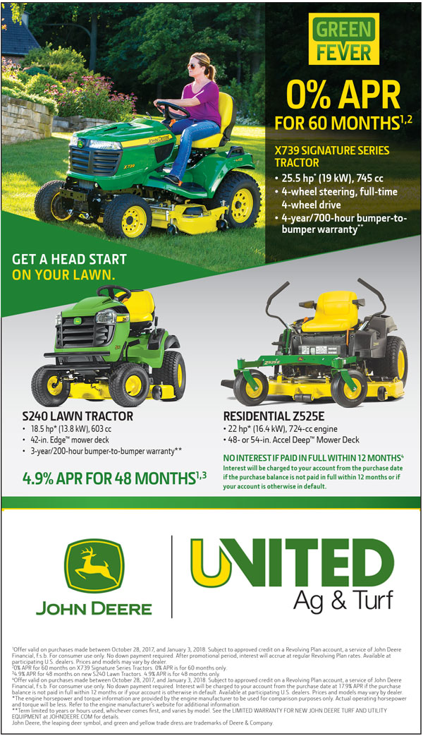 Riding Lawn Mower Sale United Ag And Turf