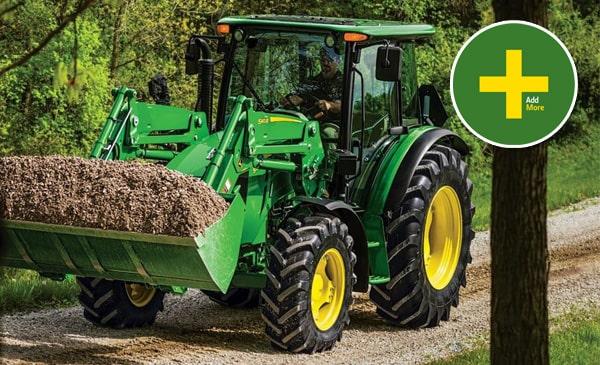 5M Utility Tractors