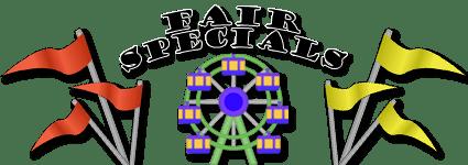 Fair Specials