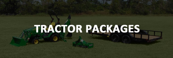 Get the perfect tractor package with all the attachments you need to get your work done