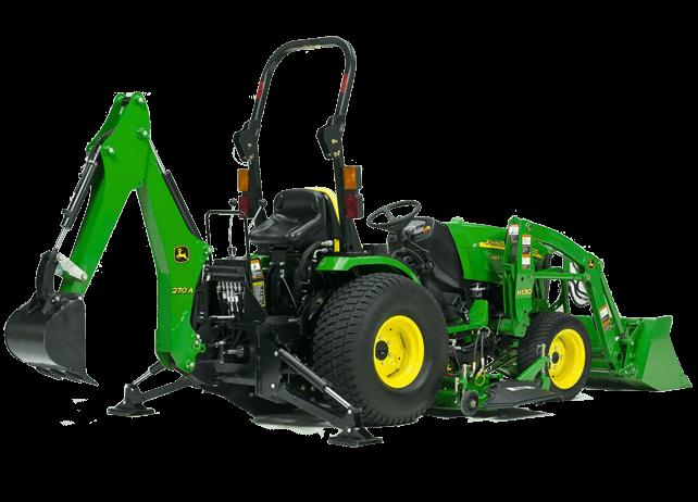 John Deere 375a Backhoe : Backhoes tom s lawn garden equipmeint inc